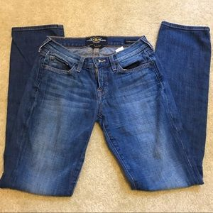 Lucky Brand Jeans Charlie Straight size 2/26